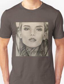 California- Pencil Portrait Unisex T-Shirt