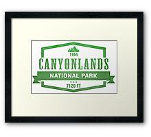 Canyonlands National Park, Utah Framed Print