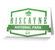 Biscayne National Park, Florida Greeting Card