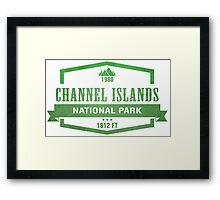 Channel Islands National Park, California Framed Print