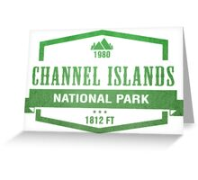 Channel Islands National Park, California Greeting Card