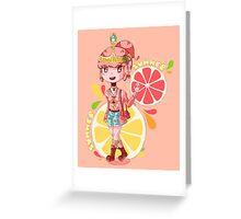 Summertime PB Greeting Card