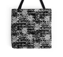 Grey Daisy  Tote Bag