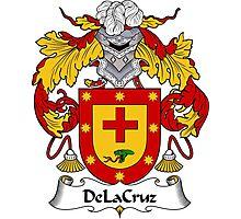 DeLaCruz Coat of Arms/Family Crest Photographic Print