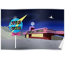 Astro Diner Poster