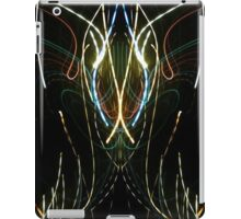 Neon Abstract One iPad Case/Skin