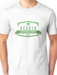 Acadia, Maine National Park Unisex T-Shirt