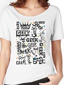 Geek Words Women's Relaxed Fit T-Shirt