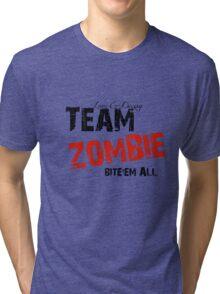 Team Zombie - TEE Tri-blend T-Shirt