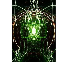 Neon Abstract Four Photographic Print