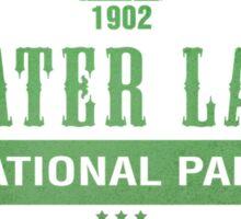 Crater Lake National Park, Oregon Sticker