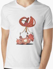 Cradle-Lily for a Vulpix. Mens V-Neck T-Shirt