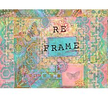 Butterfly Reframe Photographic Print
