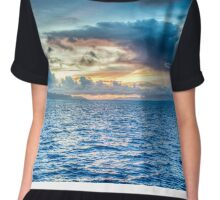 Majestic Clouds and Whatnot Chiffon Top