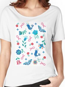 Breast Cancer Hope Women's Relaxed Fit T-Shirt