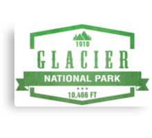Glacier National Park, Montana Canvas Print