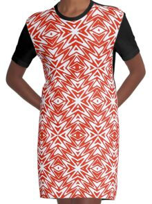 Electric Hearts Graphic T-Shirt Dress