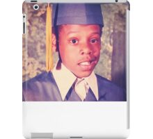 Jay-Z or Young Shawn Carter Graduation Pic iPad Case/Skin