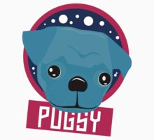 Pugsy Spots and Face Kids Tee
