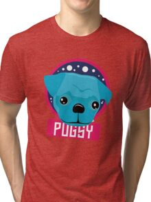 Pugsy Spots and Face Tri-blend T-Shirt