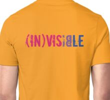 (In)visible Bisexual Unisex T-Shirt
