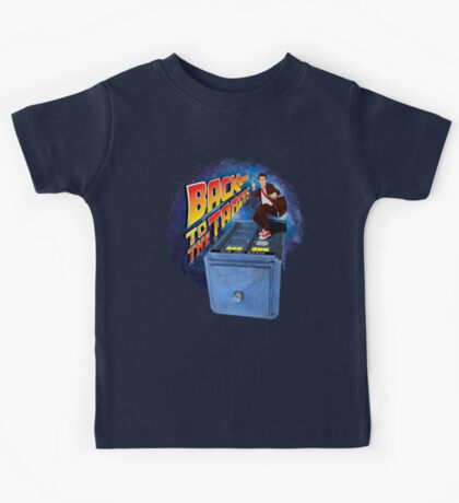 Time and Space Surfer Kids Tee