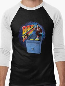 Time and Space Surfer Men's Baseball ¾ T-Shirt