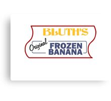 Bluth's Original Frozen Banana Stand Canvas Print