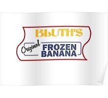 Bluth's Original Frozen Banana Stand Poster