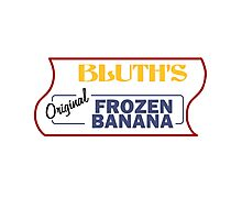 Bluth's Original Frozen Banana Stand Photographic Print