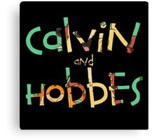 Calvin & the hobbes  Canvas Print