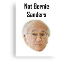 Not Bernie Sanders Canvas Print