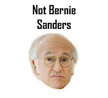 Not Bernie Sanders Photographic Print
