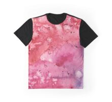 Abstract Watercolor Composition Graphic T-Shirt