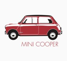 Mini Cooper Mark 1 red by car2oonz