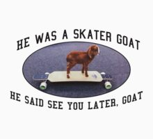 Skater Goat by JodieLianne