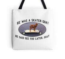 Skater Goat Tote Bag