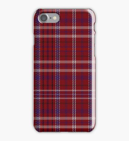 01454 Takla Makan Red Tartan iPhone Case/Skin