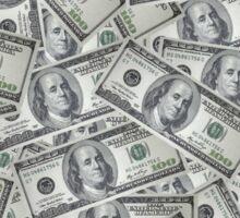Benjamin Franklin - Money Sticker
