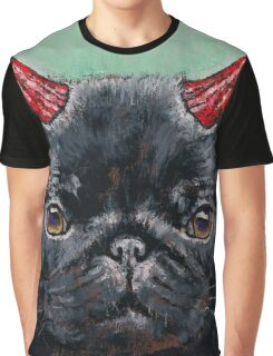 Devil Pug Graphic T-Shirt