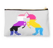 Pansexual Genderfluid Pride Unicorns Studio Pouch