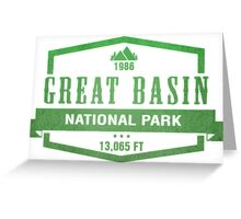 Great Basin National Park, Nevada Greeting Card