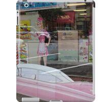 The oldies window display iPad Case/Skin