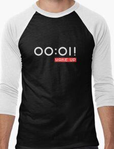 Wake Up! Black Men's Baseball ¾ T-Shirt