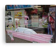 The oldies window display Canvas Print