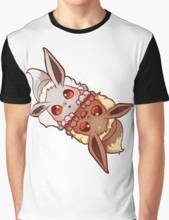 shiny and normal eevee Graphic T-Shirt
