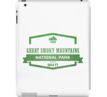 Great Smoky Mountains National Park, Tennessee iPad Case/Skin