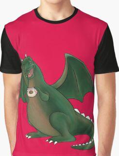 Doughnuts make dragons happy Graphic T-Shirt