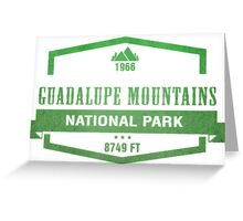 Guadalupe Mountains National Park, Texas Greeting Card