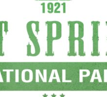 Hot Springs National Park, Arkansas Sticker
